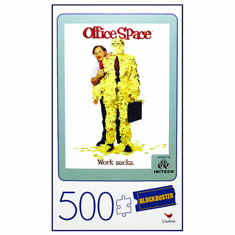 Office Space Blockbuster VHS Puzzle 500pc