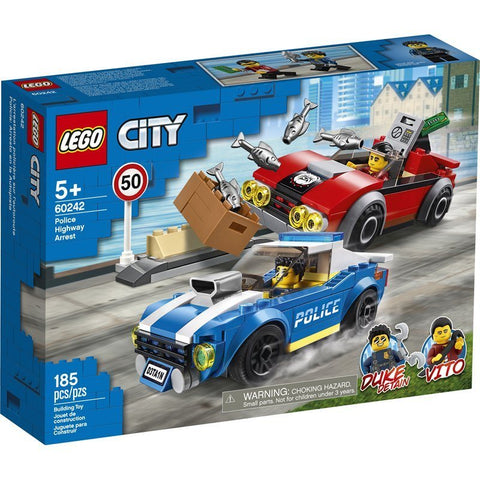 Lego Police Highway Arrest
