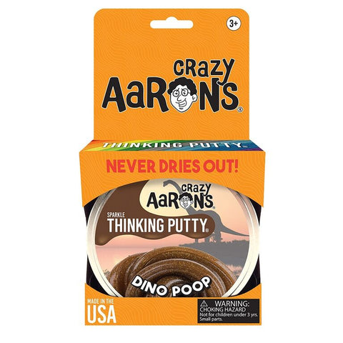 Crazy Aaron's Dino Poop Sparkle Thinking Putty