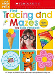 Get Ready for Pre-K Big Skills Workbook: First Tracing and Mazes
