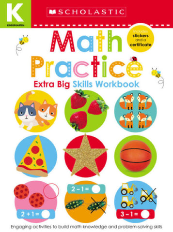Kindergarten Extra Big Skills Workbook: Math Practice