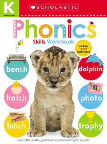 Kindergarten Skills Workbook: Phonics