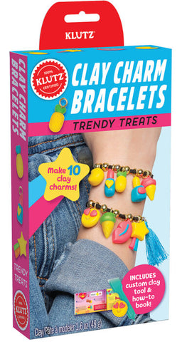 Clay Charm Bracelets: Trendy Treats
