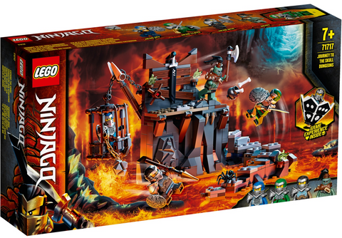 Lego Ninjago Journey to the Skull Dungeons