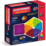 Magformers Magnetic Rainbow 14 Piece Set