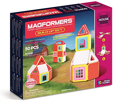 Magformers Magnetic Build Up Set