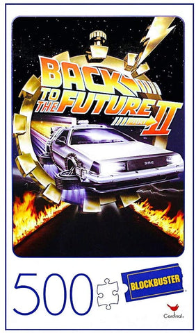 Back to the Future Blockbuster VHS Puzzle 500pc