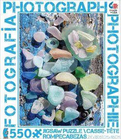 Ceaco Photography Sea Glass 550 Piece Puzzle