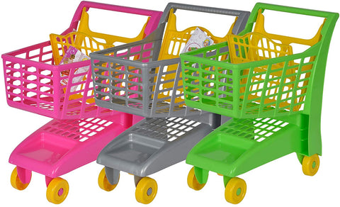 Mini Shopping Cart Assorted Colours