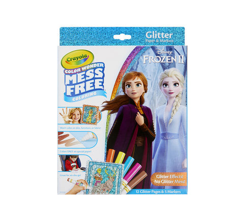 Crayola Colour Wonder Mess Free - Frozen 2 Glitter Effects Set