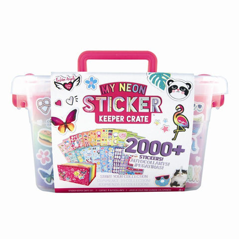 Fashion Angels My Neon Sticker Keeper Crate