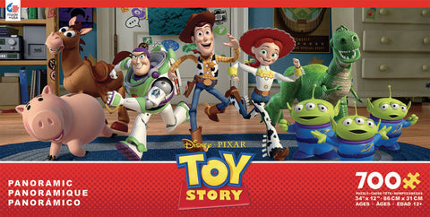Ceaco Disney Toy Story 700 Piece Panoramic Puzzle