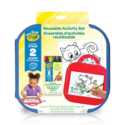 My First Crayola Reusable Activity Set
