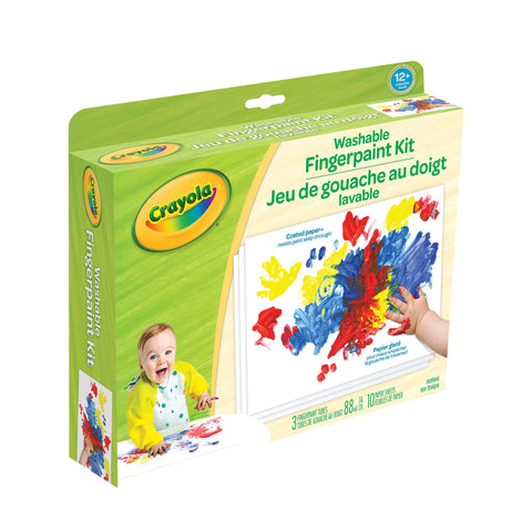 Crayola Washable Fingerpaint Kit