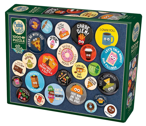 Cobble Hill Buttons Jigsaw Puzzle 1000pc