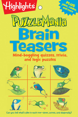 PuzzleMania Brain Teasers