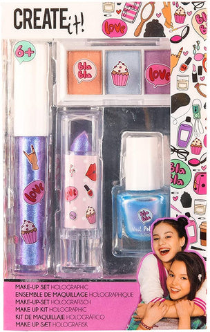 Create It! Holographic Make-Up Set