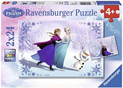 Ravensburger Frozen Sisters Always 2x24 Piece Puzzles