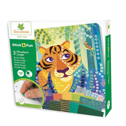 Stick'N Fun Mosaics - Jungle