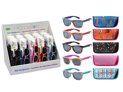 Excel Vision Kids Printed Sunglasses