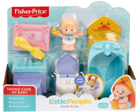 Fisher-Price Little People Wash & Go