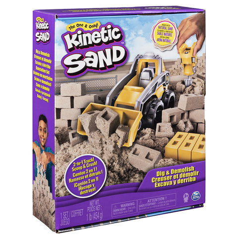 Kinetic Sand 2-in-1 Truck Set