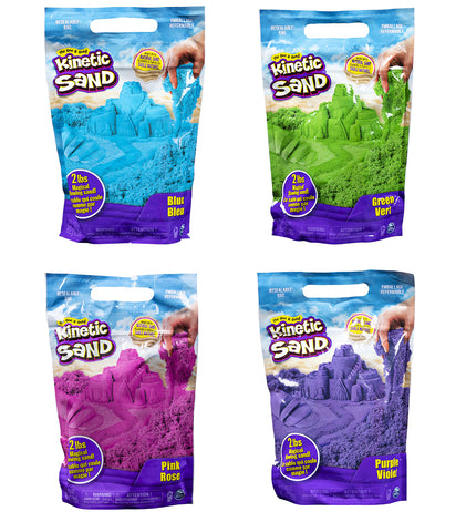Kinetic Sand 2lb Assorted Colours