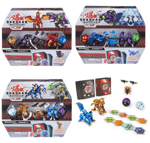 Bakugan Battle Gear Pack S2 Assorted