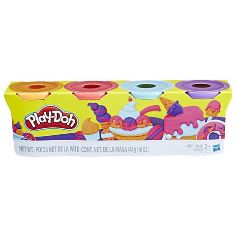 Play-Doh 4-Pack of Sweet Colours