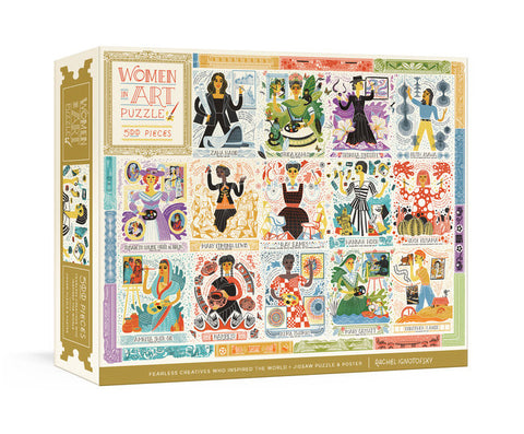 Women in Art Jigsaw Puzzle 500pc