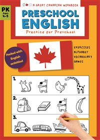 Great Canadian Workbook: Preschool English