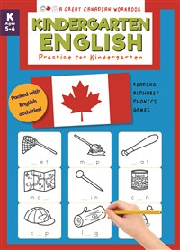Great Canadian Workbook: Kindergarten English
