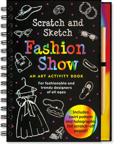 Scratch & Sketch: Fashion Show