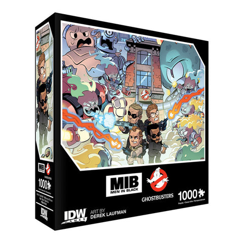 Men In Black/Ghostbusters: Ecto-terrestrial Invasion Jigsaw Puzzle 1000pc