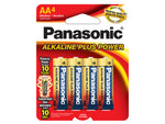 Panasonic Alkaline Plus Power AA 4-Pack