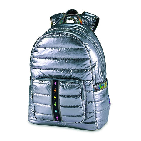 Top Trenz Puffer Backpack with BOLT Strip