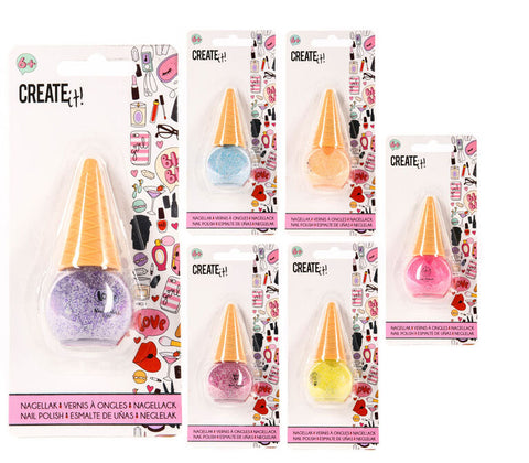 Create It! Nail Polish Icecream Disco