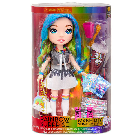 Rainbow Dream Rainbow Surprise DIY Slime Fashion Doll