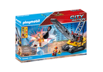 Playmobil Cable Excavator with Building Section