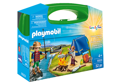 Playmobil Family Fun Camping Adventure Carry Case