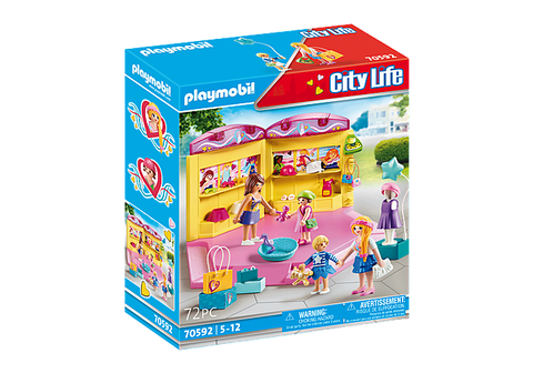Playmobil City Life Children's Fashion Store