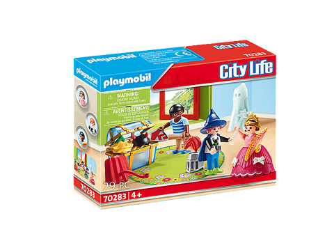 Playmobil City Life Children with Costumes