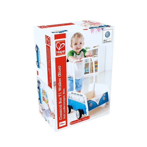 Hape Classical Bus T1 Walker (Blue)