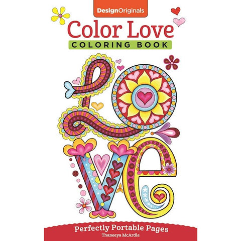 Colour Love Colouring Book