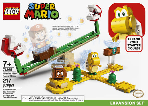 Lego Super Mario Piranha Plant Power Slide Expansion Set