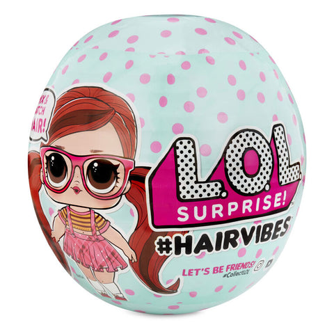 L.O.L. Surprise! #Hairvibes Dolls with 15 Surprises