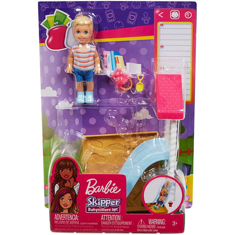 Barbie Skipper Babysitters INC Playground Set