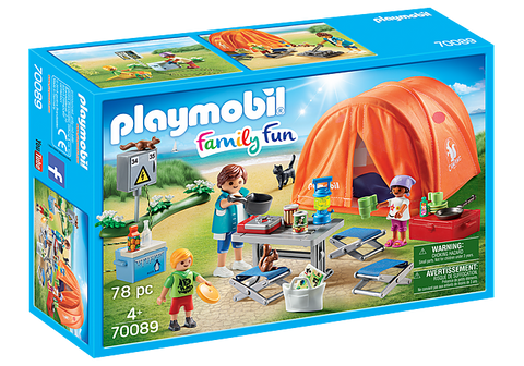 Playmobil Family Camping Trip