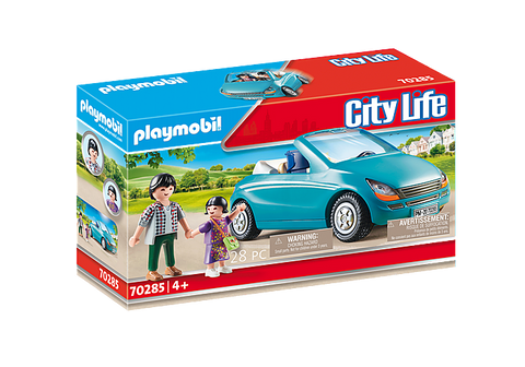 Playmobil City Life Family with Car