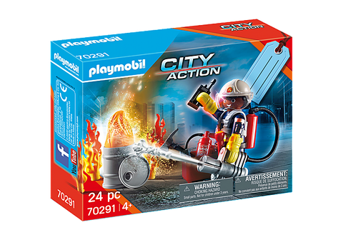 Playmobil City Action Fire Rescue Gift Set